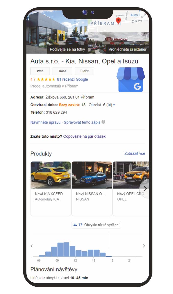 Google Moje firma, sociální sítě, na netu v pohodě